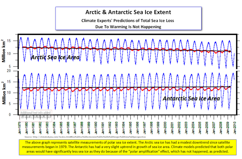 Polar sea ice extent