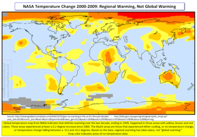 NASA Regional Warming 2000-2009 cr