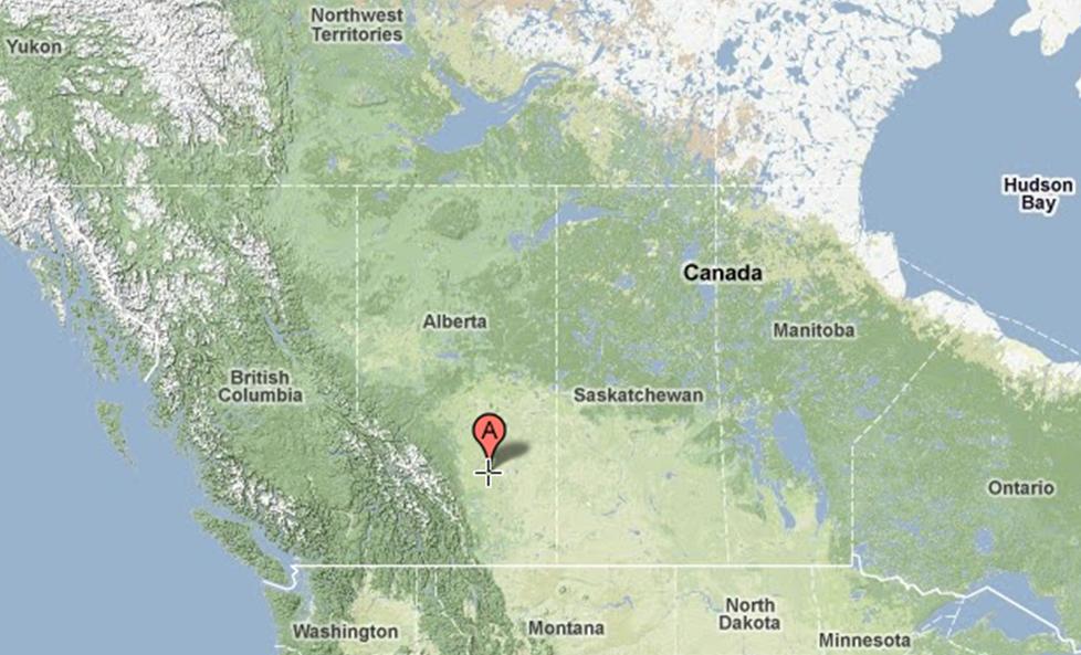 Pine Lake Alberta Canada