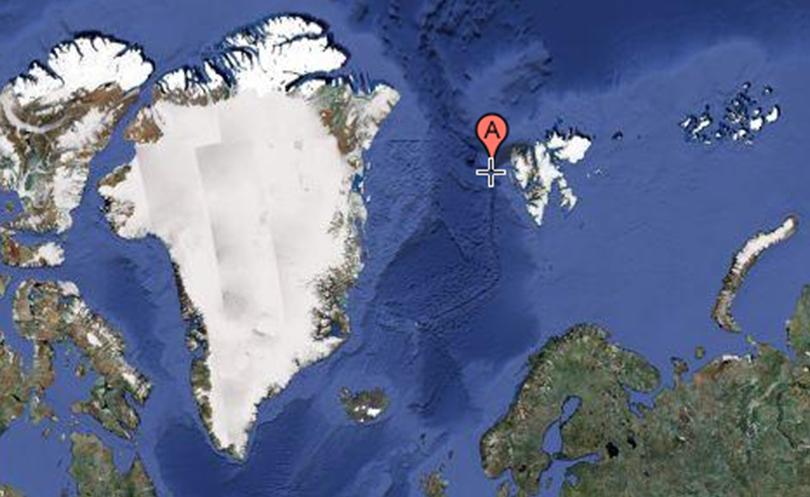 Greenland Fram Strait