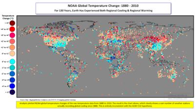 NOAA GlobalRegional Cooling 1880-2010