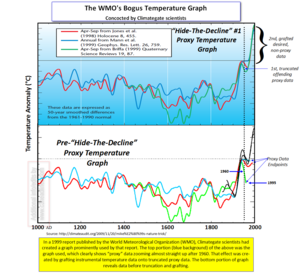 WMO Hockey Stick Chart