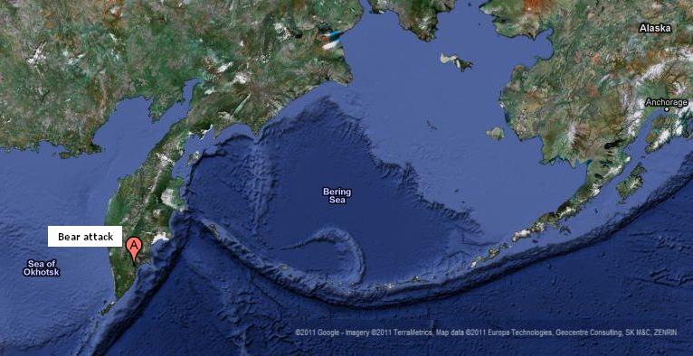Kamchatka Peninsula On World Map.C3 Two Russians Killed By Bear On Kamchatka Peninsula Global