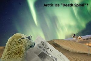 Global warming scam polar warming