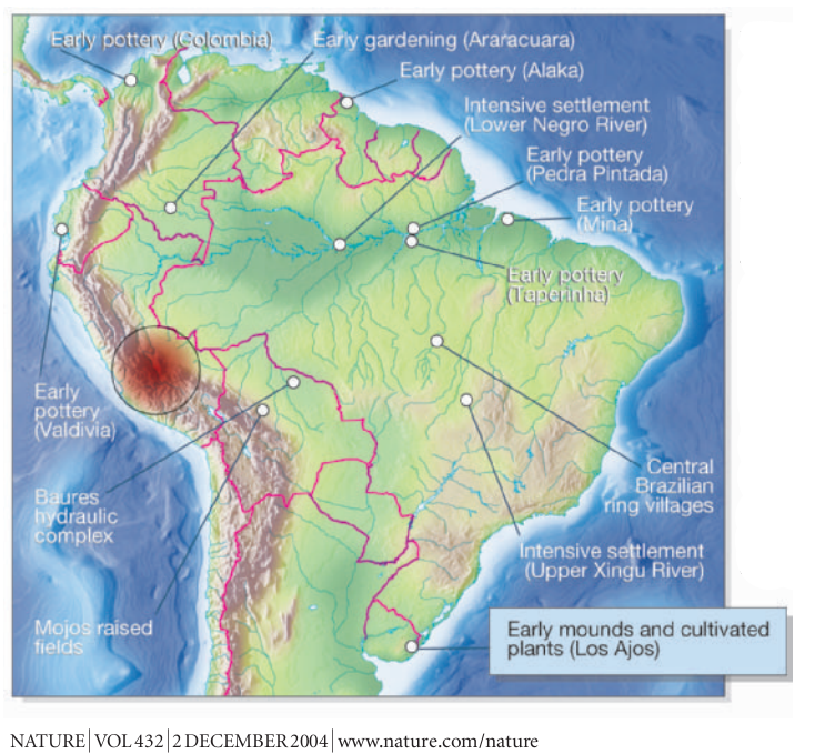 Medieval global warming southern hemisphere uruguay mounds