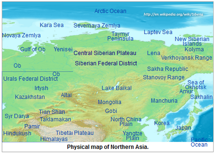 Siberia permafrost tipping point