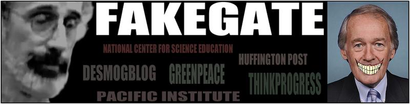 Fakegate Democrat lies Ed Markey climate change hoax