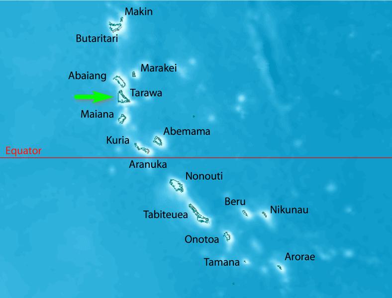 Ipcc climate change sea level rise pacific tarawa