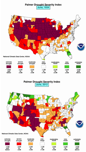 University of nebraska climate science liars drought 1934 2012