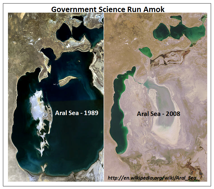 The roman and medieval unprecedented warming - aral sea