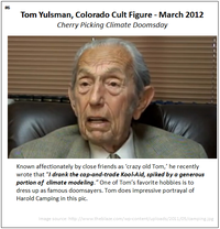Tom Yulsman cherry picking cultist aka Harold Camping