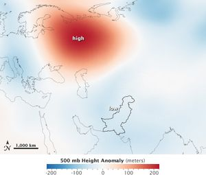 Climate modeling failure Siberian high