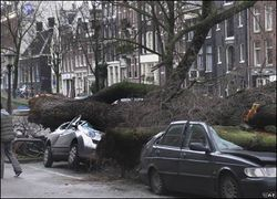 Extreme climate change severe weather EU dutch netherlands