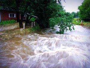 Heavy precipitation events human co2 emissions global warming extreme climate change