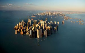 The hysterical sea rise level reported by mainstream media noaa