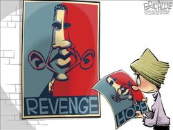 Obama revenge democrats liberals progressives live it