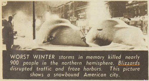 1956 climate change severe weather blizzard