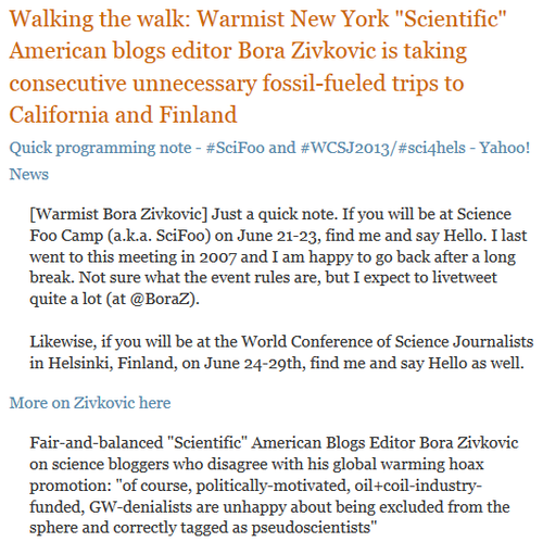 Scientific american hypocrite blogger bora zivkovic