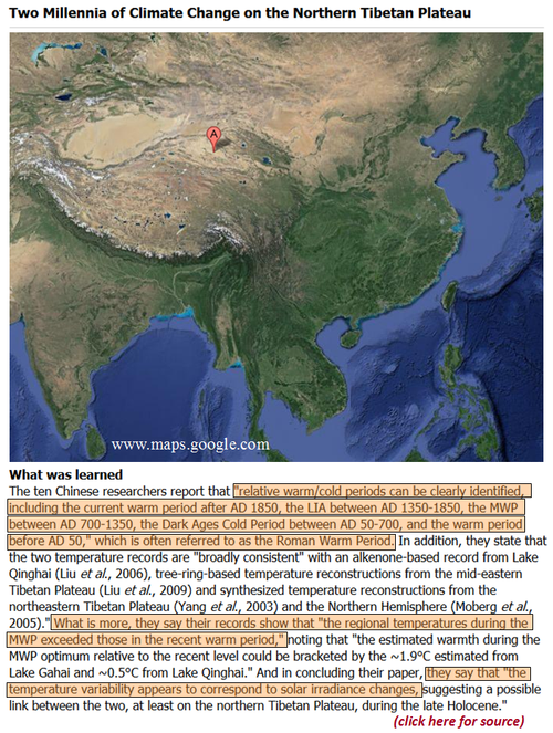 Tibet plateau china qaidam basin peer reviewed science medieval period warmer