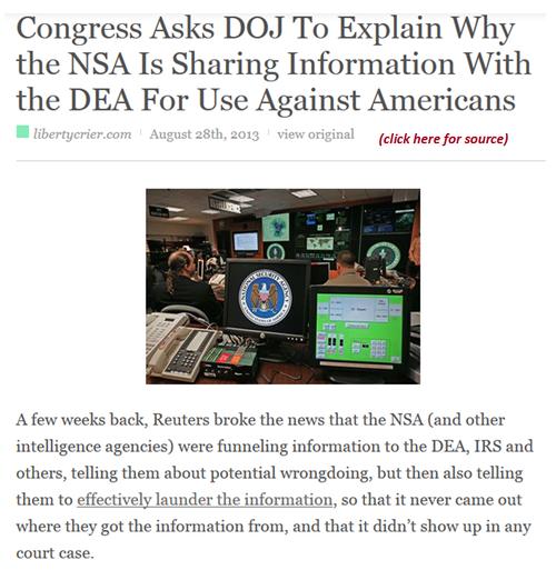 Obamas illegal totalitarian spying NSA DEA IRS