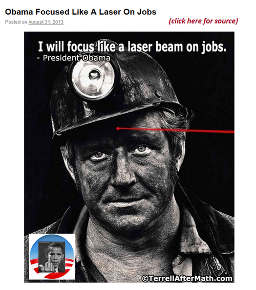 Obamas america epa coal industry worker laser unemployment