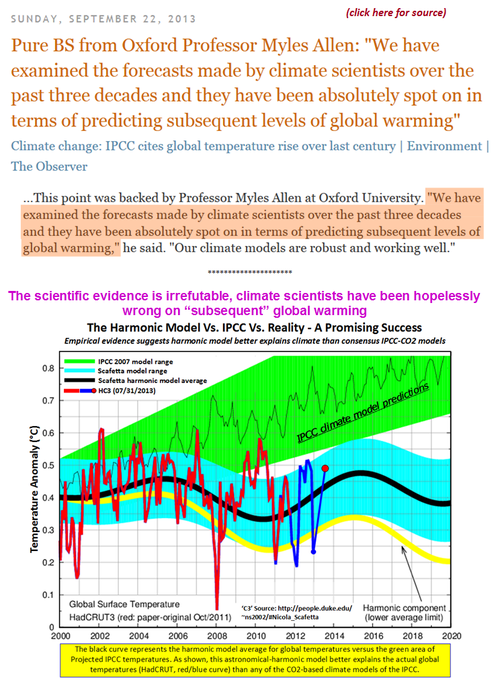 Todays climate denier-liar-BSer Myles Allen Oxford ipcc global warming