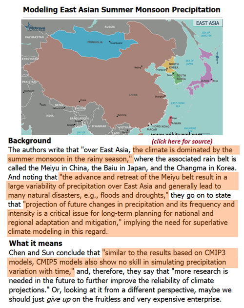 East asia monsoons ipcc climate models precipitation simulations squat