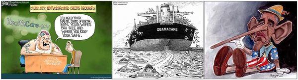 Obamacare cartoons november 10 2013