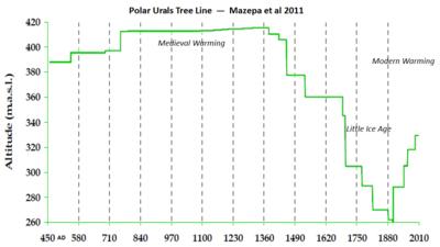 Polar urals tree line mazepa 2011