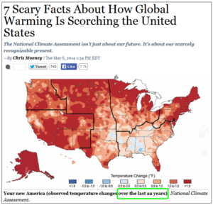 Extreme cherry picked us global warming chart from mother jones chris mooney 051314