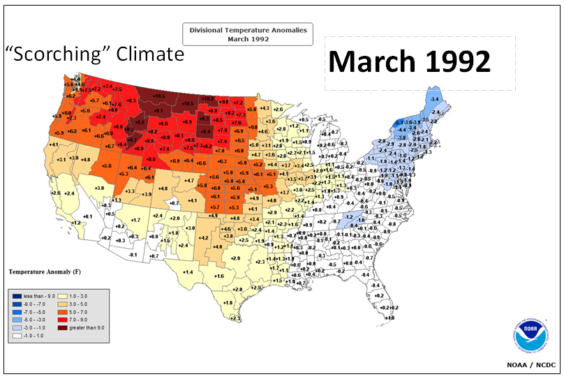 C Posts From May May - Us temperature map march