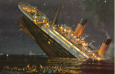 The titanic never sinking prediction