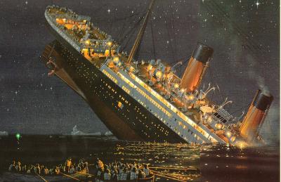 The titanic never sinking prediction