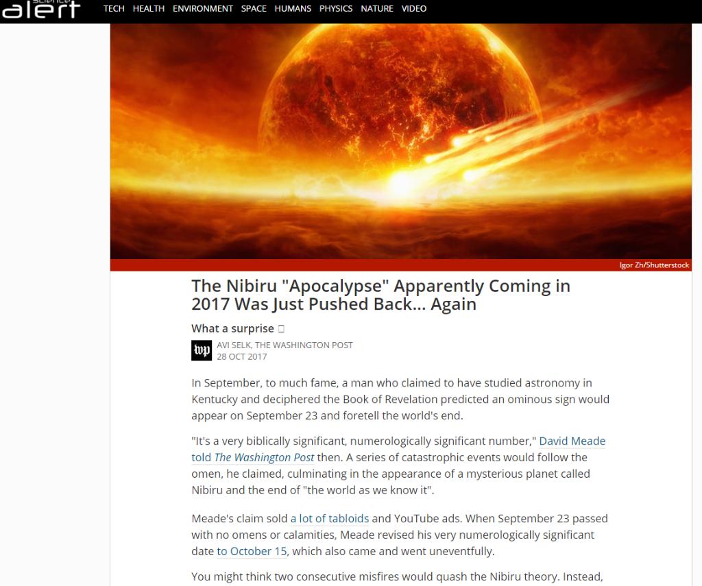 C3: AGW: Alarmism, Doomsday Cult, Hysteria