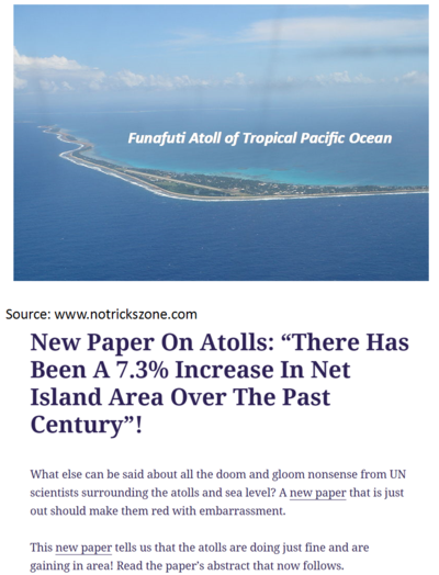 Funafuti atoll pacific ocean global warming sea rise 051215