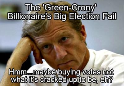 Tom steyer midterm election fail 2014