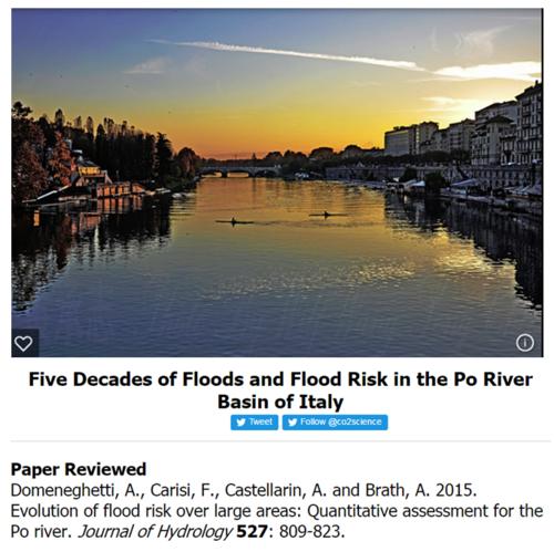 Po river study