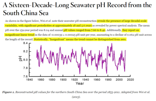 Natural ocean sea acidification greater than human CO2 causes study
