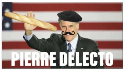 GOP Mitt Romney aka Pierre Delecto